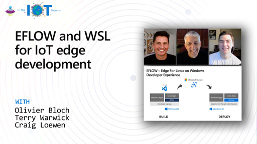 EFLOW and WSL for IoT edge development