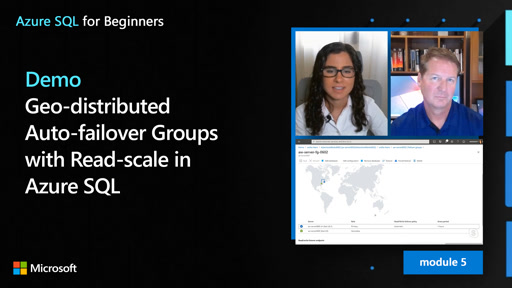 Demo: Geo-distributed Auto-failover Groups with Read-scale in Azure SQL (52 of 61)