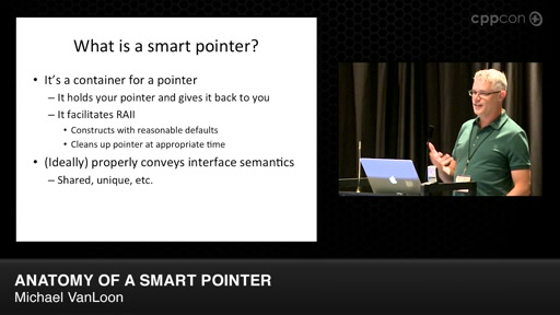 Lightning Talks: Anatomy of A Smart Pointer