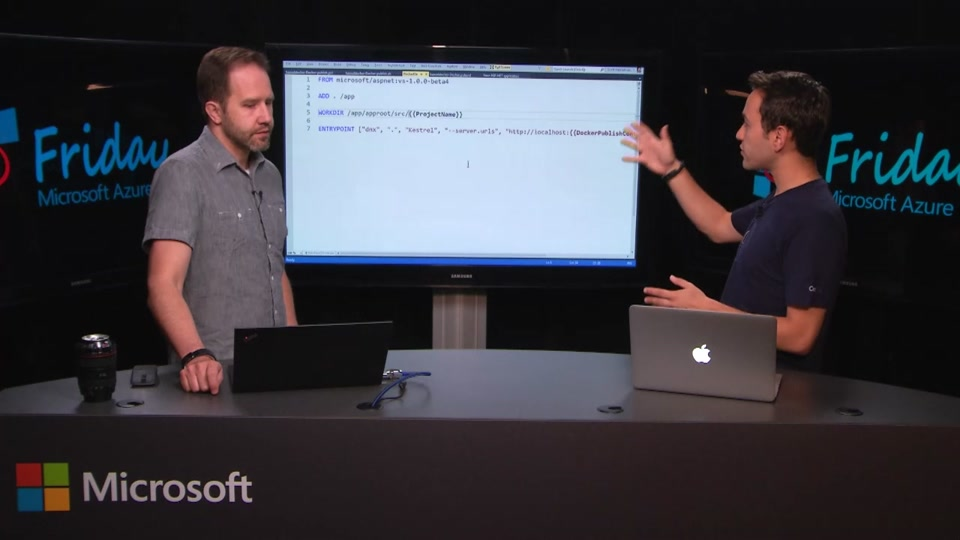 The Docker Visual Studio Extension with Ahmet Alp Balkan