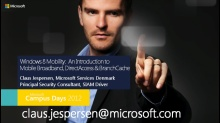 Windows 8 Mobility: An Introduction to Mobile Broadband, DirectAccess and BranchCache