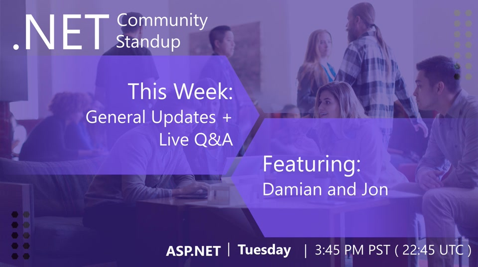 ASP.NET Community Standup - March 12th, 2019 - General ASP.NET Updates