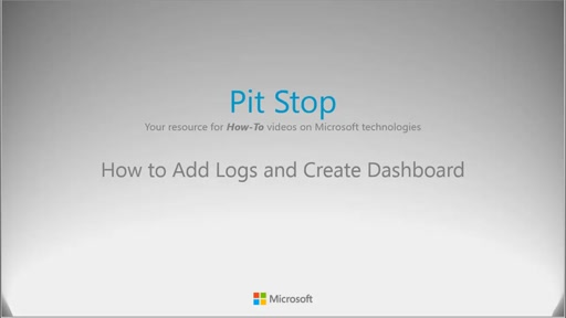 How to add logs and create dashboards