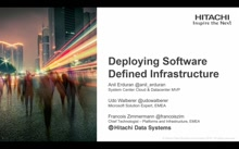 Hitachi: Deploying Software Defined Infrastructure with Hitachi UCP for Microsoft Private Cloud