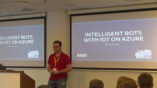 GABC2016 - Build Intelligen bots with IOT on Azure
