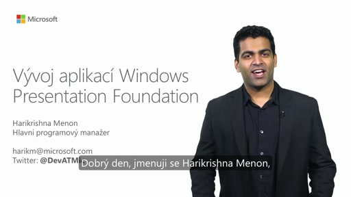 Vývoj aplikací Windows Presentation Foundation (WPF)