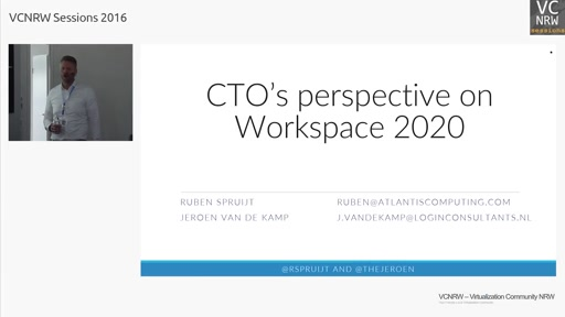 CTOs Perspective on the Workspace in 2020