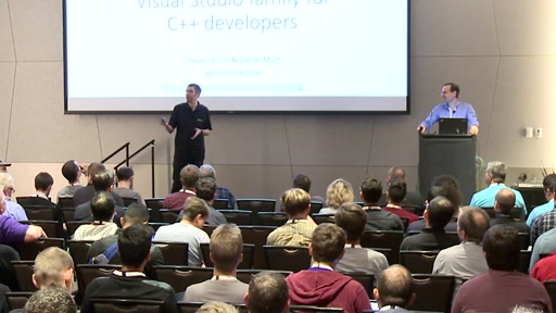 """CppCon 2016: Carroll & Moth """"Latest and Greatest from the Visual Studio Family for C++ Developers"""""""
