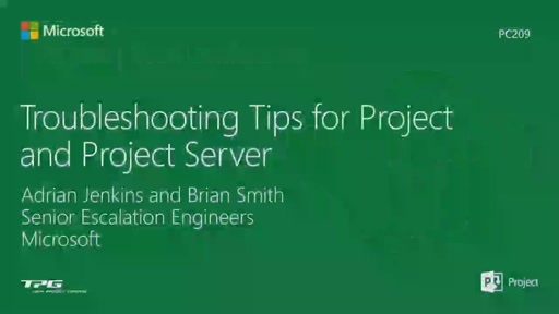 Troubleshooting Tips for Project and Project Server