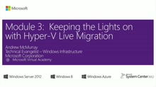 (Module 3) Keeping the Lights on with Hyper-V Live Migration
