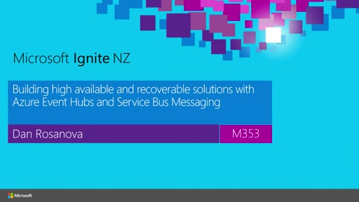 Building highly available and recoverable solutions with Azure Event Hubs and Service Bus Messaging