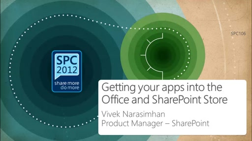 Getting Your Apps into the Office and SharePoint Store