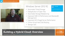 TechNet Radio: (Part 1) Building Your Hybrid Cloud - Windows Server 2012 R2 Storage Foundation