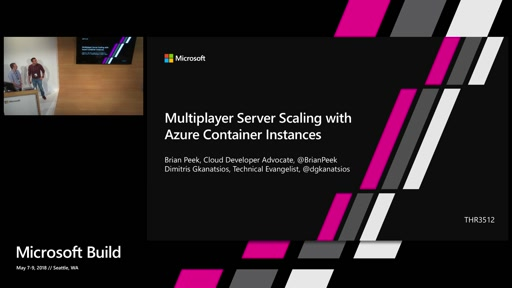 Multiplayer Server Scaling with Azure Container Instances