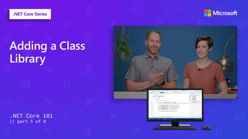 .NET - Adding a Class Library [5 of 8]