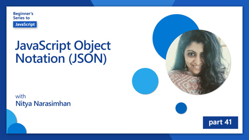 JavaScript Object Notation (JSON) [41 of 51]
