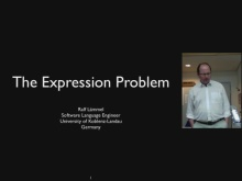 C9 Lectures: Dr. Ralf Lämmel - Advanced Functional Programming - The Expression Problem