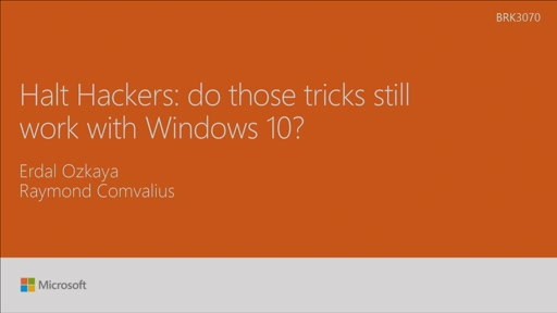Halt hackers: do those tricks still work with Windows 10?