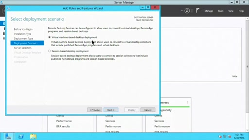 (Part 2) How to Setup RDS and Virtual Desktop Infrastructure (VDI)