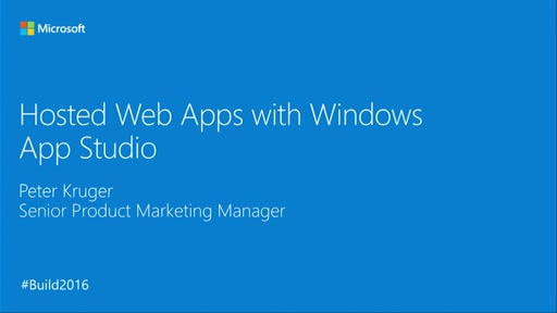 Bring a Web App to Windows in Under 5 Minutes with Windows App Studio