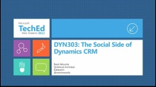 The Social Side of Microsoft Dynamics CRM
