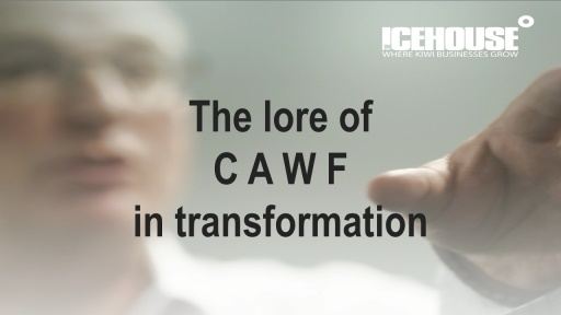 The Law of CAWF in personal transformation