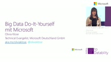 Big Data Do-It-Yourself mit Microsoft