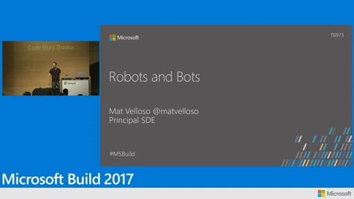 Creating natural conversational interfaces for robots using the power of Microsoft cloud