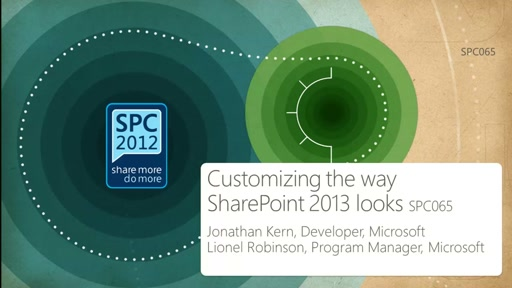 Customizing the way SharePoint 2013 looks