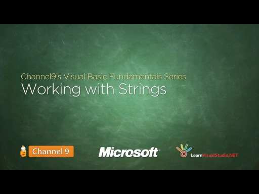 Working with Strings - 12