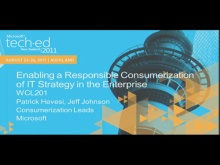 Enabling a Responsible Consumerization of IT Strategy in the Enterprise