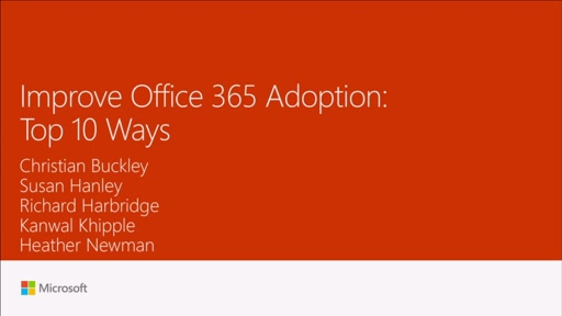 Improve Office 365 adoption: top 10 ways