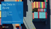 Big Data in Azure