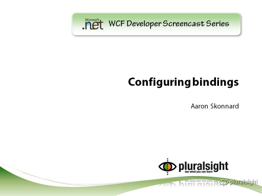 endpoint.tv Screencast - Configuring Bindings