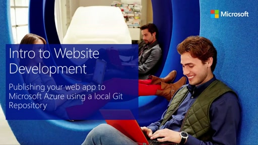 Publishing Your First Web App to Microsoft Azure using Git