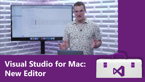 Visual Studio for Mac: New Editor