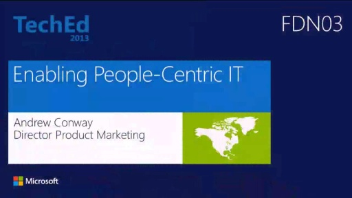 Enabling People-Centric IT