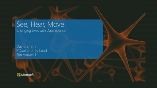 See, Hear, Move: Changing Lives with Data Science