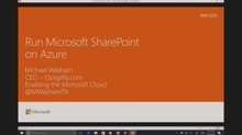Run Microsoft SharePoint on Azure