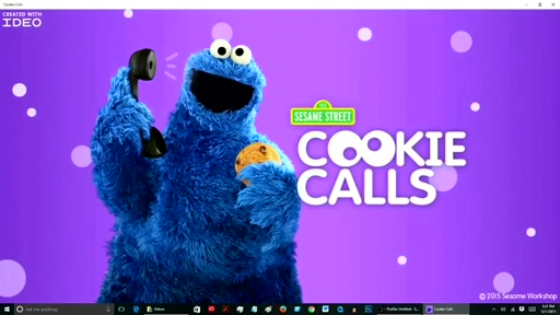 my app in 60 seconds: Cookie Calls