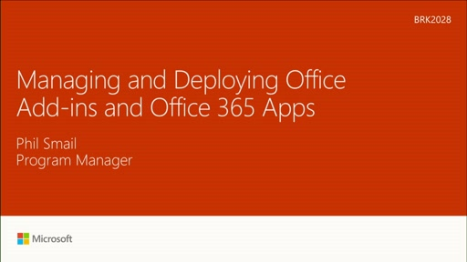 Manage and deploy Office add-ins and Office 365 apps