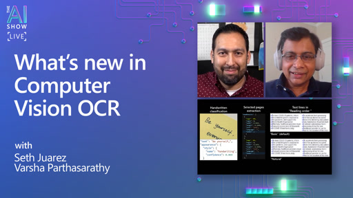 What's new in Computer Vision OCR