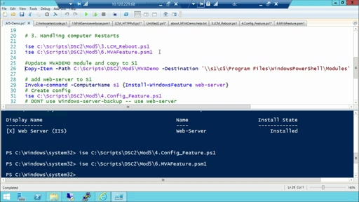 Advanced PowerShell Desired State Configuration (DSC) and Custom Resources: (05) Enhancing Your Custom Resources
