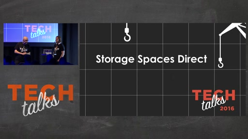 Tech Talks 2016 Dell EMC Stage Storage Spaces Direct