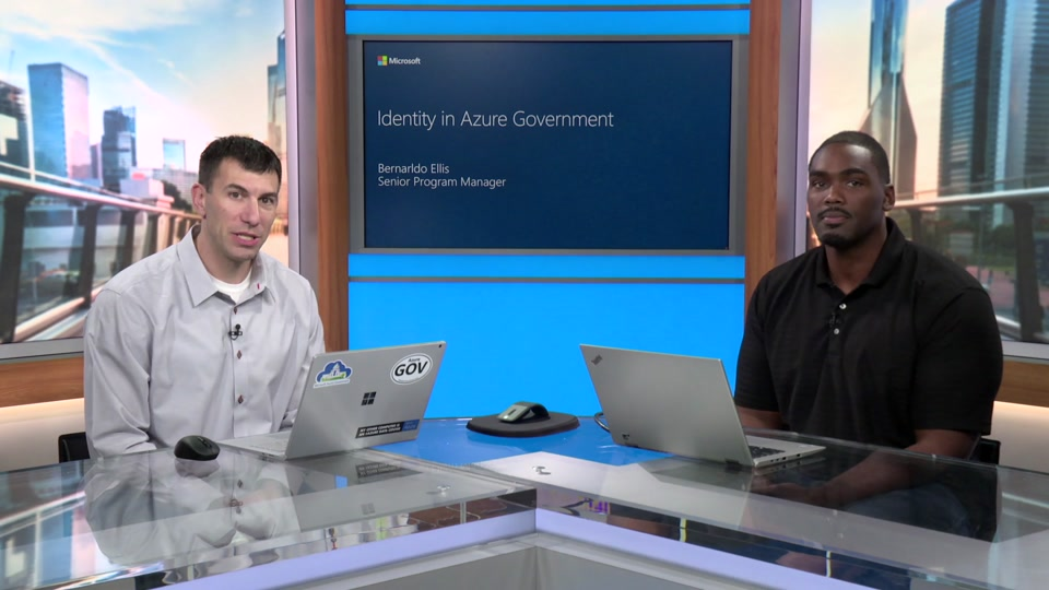 Identity on Azure Government