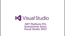 ​.NET Platform - PCL Investments Since Visual Studio 2012