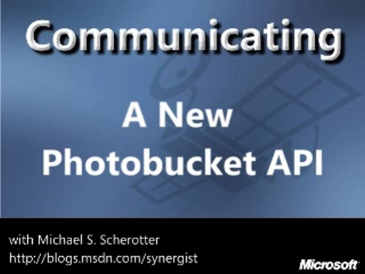 A New Photobucket.com API