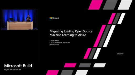 Migrating Existing Open Source Machine Learning to Azure