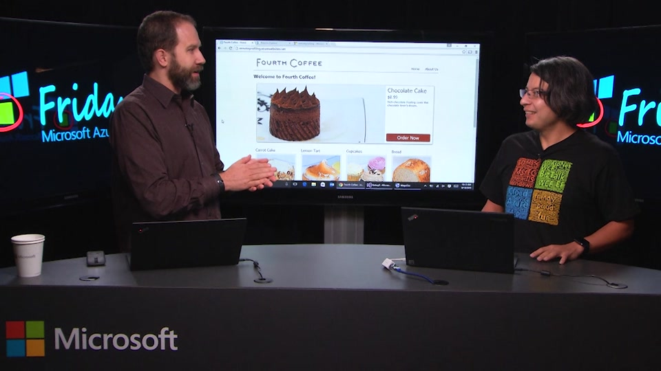 Remote Profiling in Azure with Hamid Saffi