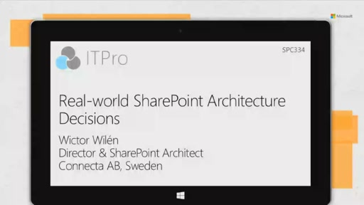 Real-world SharePoint architecture decisions